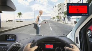 Now Vans Can Brake Automatically for Pedestrians if the Driver D